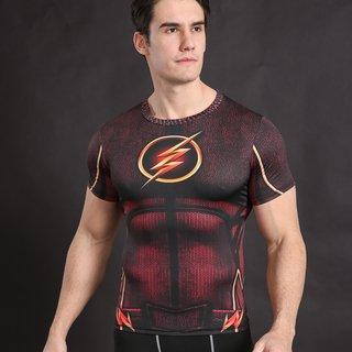 Camisa Flash Manga Curta