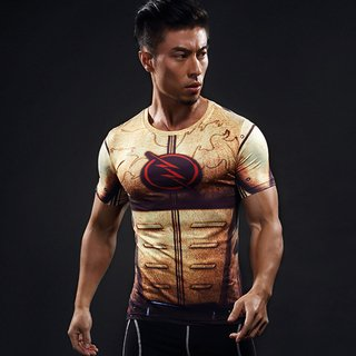 Camisa Flash Reverso Manga Curta