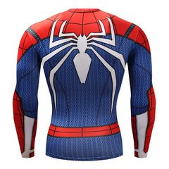 Camisa Spider-Man PS4 Manga Longa