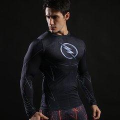 Camisa Zoom The Flash Manga Longa - Cosplaynation