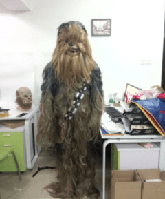 Chewbacca Fantasia Cosplay Infantil