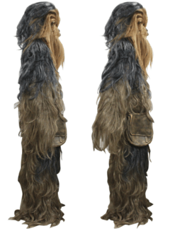 Chewbacca Fantasia Cosplay na internet