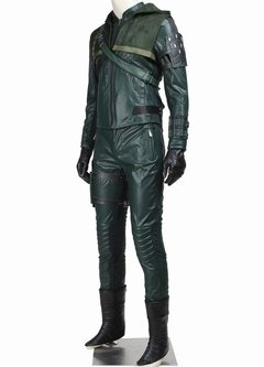 Oliver Queen Arrow 2º Temporada Fantasia Cosplay - Cosplaynation