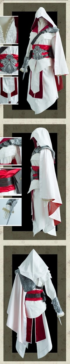 Assassins Creed Videogame Fantasia Cosplay na internet