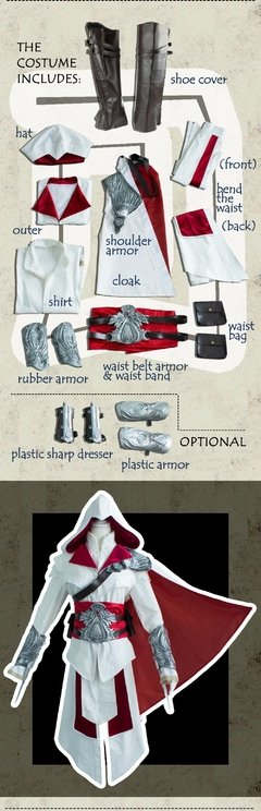 Assassins Creed Videogame Fantasia Cosplay - Cosplaynation