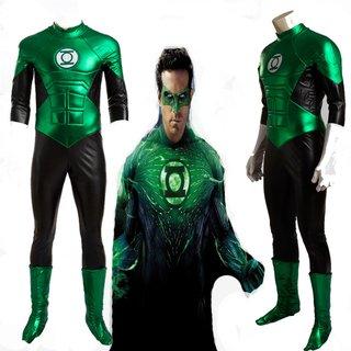 Lanterna Verde Fantasia Cosplay