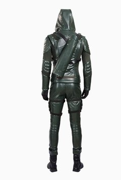 Oliver Queen Arrow 5º Temporada Fantasia Cosplay