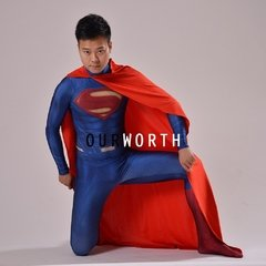 Superman Fantasia Cosplay