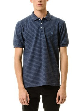 Chomba PENGUIN PATTERN POLO THIN STRIPE