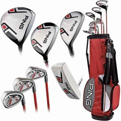 Golf Argentino Set Junio Ping Moxie K 6-7 Años - GOLF ARGENTINO STORE