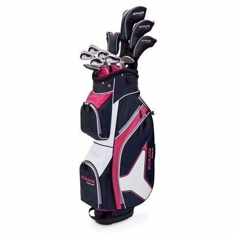 Set Completo Strata Tour Dama By Callaway