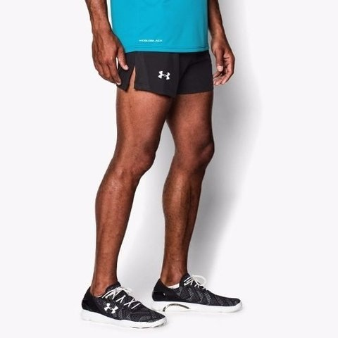 Pantalón Corto De Running Under Armour Launch Split en internet