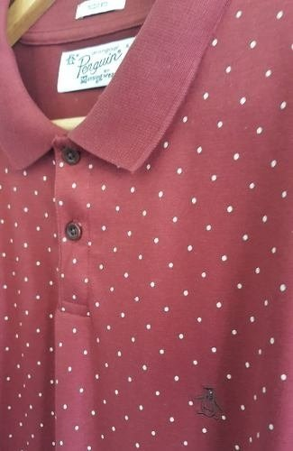 Original Penguin Pattern Polo Dot Print - comprar online