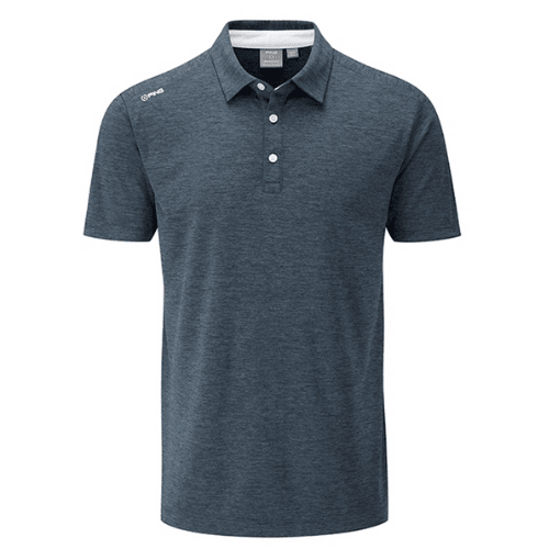 Polos PING Harrison Heather Black