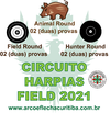 HARPIAS FIELD/HUNTER/ANIMAL 2021 - ESCOLHA A DATA