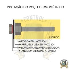 Controlador de Brassagem Single Vessel - 8000W