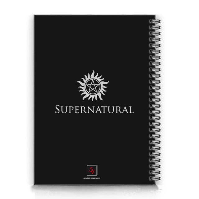 caderno do supernatural