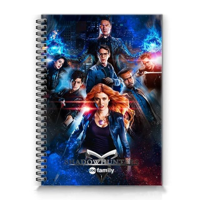 Caderno shadowhunters