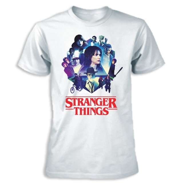 Imagem do Camiseta - Stranger Things Retrô
