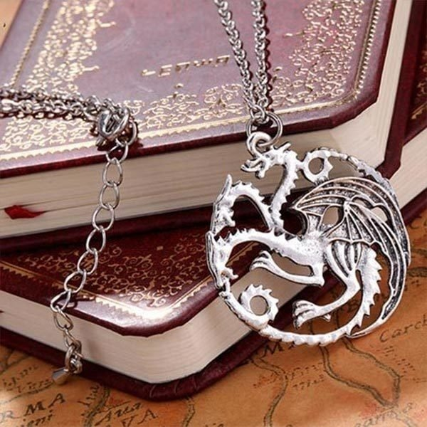 Colar  - Casa Targaryen Game of Thrones - comprar online