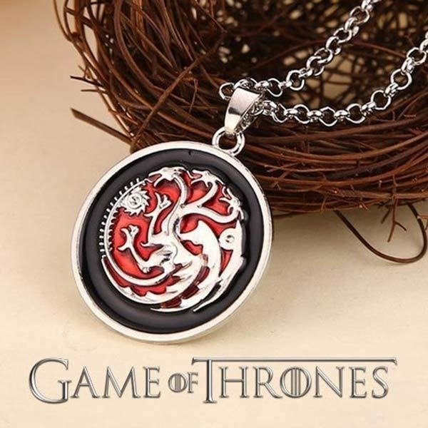 Colar Targaryen - Game of Thrones