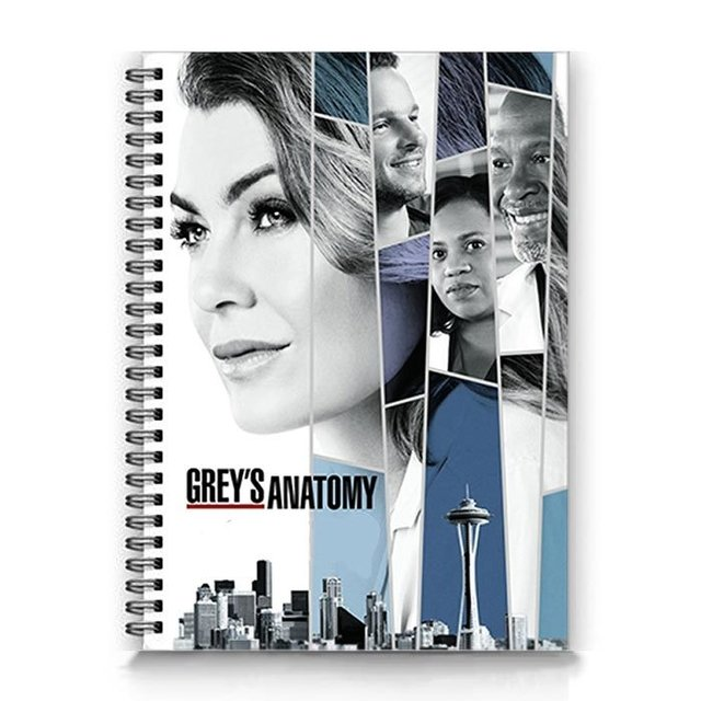 caderno Grey's Anatomy