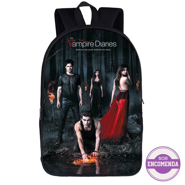 mochila the vampire diaries