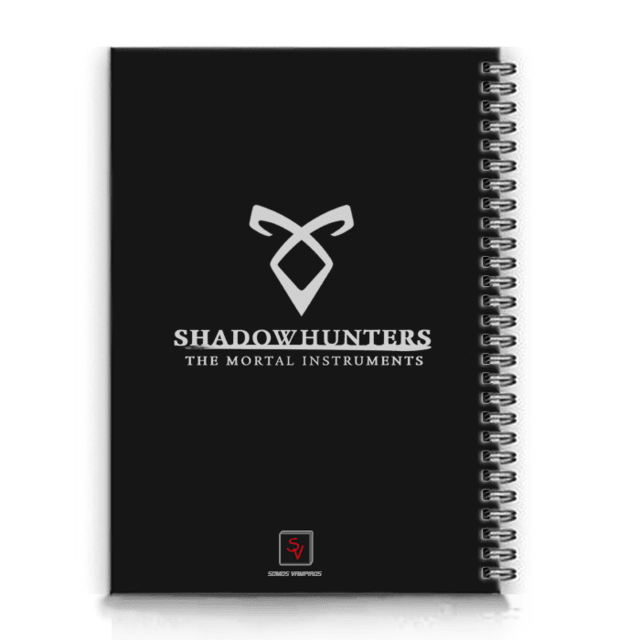 cadernos shadowhunters