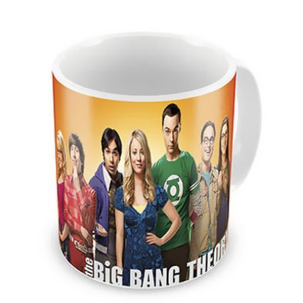 Caneca de Porcelana - The Big Bang Theory