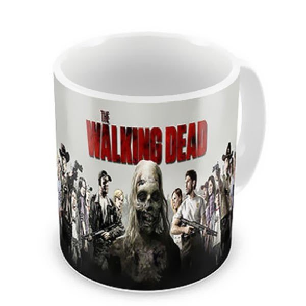 Caneca de Porcelana - The Walking Dead