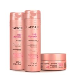Cadiveu Hayr Remedy Kit Shampoo Condicionador e Máscara