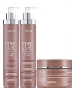 Amend Luxe Creations Blond Care - Shampoo+Condicionador+Mascara na internet
