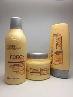 Forever Liss Kit Force Repair - Shampoo+Condicionador e Mascara