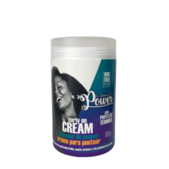 Soul Power Curly On Cream Creme para Pentear 800g