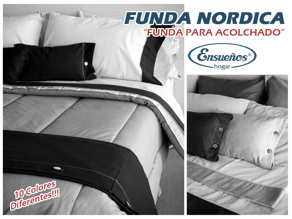 Funda Nordica King Size.Funda Nordica Funda Para Acolchado Rustica Natural