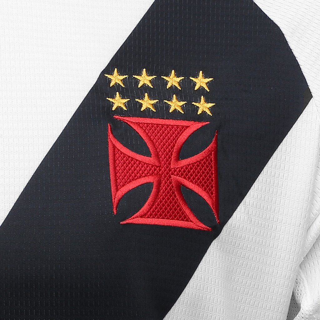 2e2e0941f7 Camisa Vasco II 2018 s n° - Torcedor Diadora Masculina - Branco