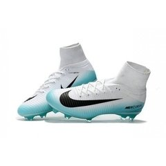 NK Mercurial Superfly BlueBlanc Nero