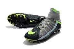 NK Hypervenom Phantom III - Black/grey/green