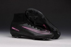 NK Mercurial Superfly FG - Preto/pink