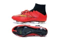 Nike Mercurial Superfly FG - Red Black