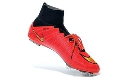 Nike Mercurial Superfly FG - Red Black - ValeSports
