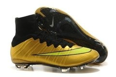 Nike Mercurial Superfly FG - Glod/Black