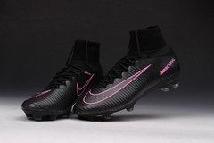 NK Mercurial Superfly FG - Preto/pink - ValeSports