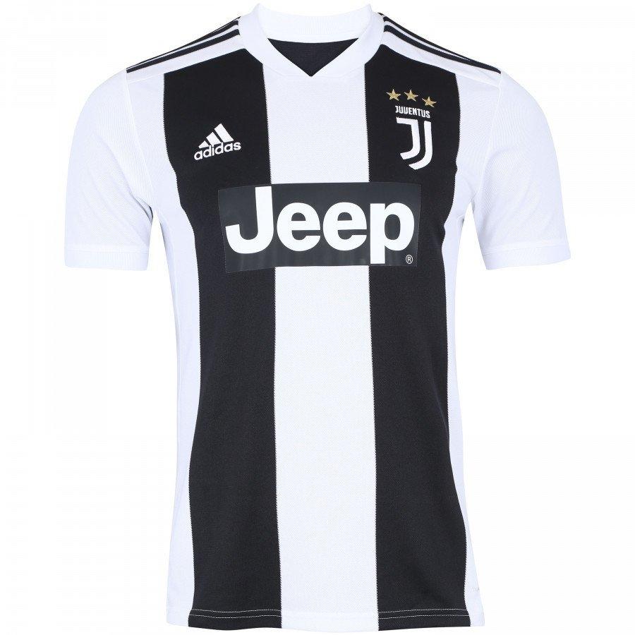 439aac93825dd Camisa Juventus Home 18 19 s nº - Torcedor Adidas Masculina - Branco e Preto