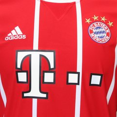 Camisa Bayern de Munique Home 17/18 s/nº - Fan Version - Adidas Masculina - Vermelho na internet