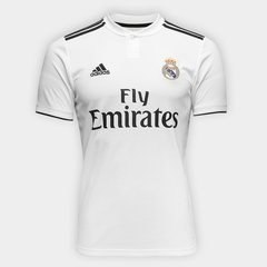 d2fb77e0a44f9 Camisa Real Madrid Home 18 19 s n° Torcedor Adidas Masculina ...