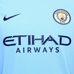 Camisa Manchester City Home 17/18 s/nº- Fan Version- Nike Masculina - Azul Claro na internet