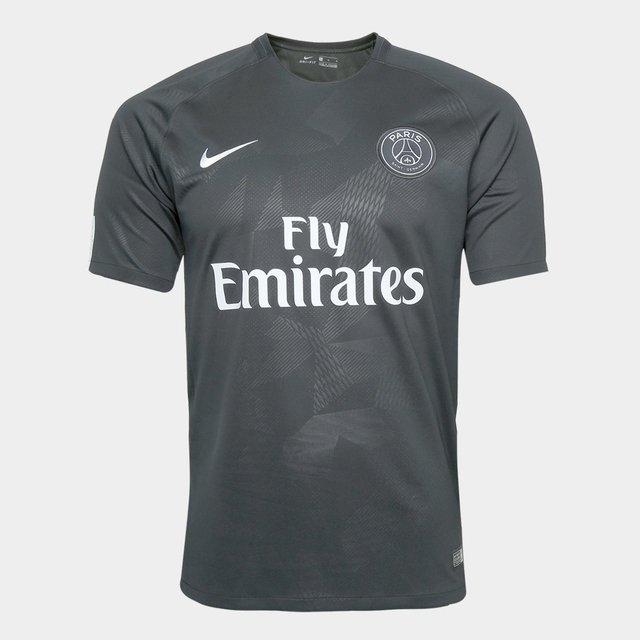 54c2a51bbc Camisa Paris Saint-Germain Third 17 18 s n° - Fan Version