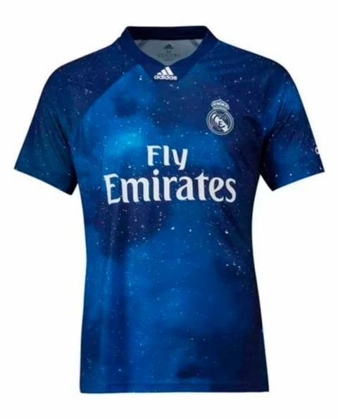 Camisa Real Madrid Home 18 19 s n° Torcedor Adidas Masculina ... 4bcf3bdb39390