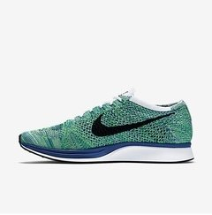 Imagem do Nike Flyknit Racer Green Black